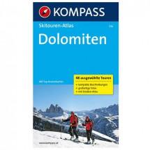 Kompass - Dolomiten - Guides de randonnée à ski