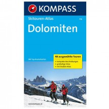 Kompass - Dolomiten - Skitourgidsen