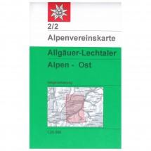 DAV - Allgäuer-Lechtaler Alpen, östliches Blatt 2/2