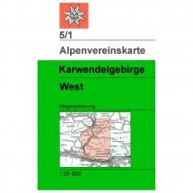 DAV - Karwendelgebirge, westliches Blatt 5/1
