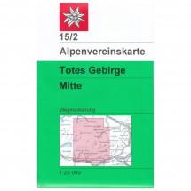 DAV - Totes Gebirge, mittleres Blatt 15/2