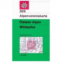 DAV - Ötztaler Alpen, Wildspitze 30/6 - Vaelluskartat