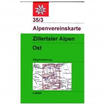 DAV - Zillertaler Alpen, östliches Blatt 35/3 - Hiking map