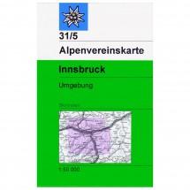 DAV - Innsbruck und Umgebung 31/5 - Skitourenkarte