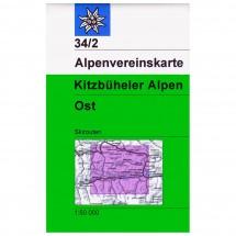 DAV - Kitzbüheler Alpen, östliches Blatt 34/2 - Skitours