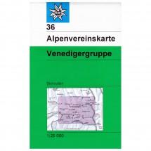 DAV - Venediger Gruppe 36 - Skitourenkarte