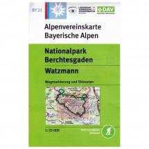 DAV - Nationalpark Berchtesgaden, Watzmann BY21