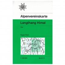 DAV - Langthang Himal (Nepal), östliches Blatt 0/11