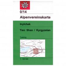 DAV - Inylchek (Tien Shan / Kyrgyzstan) 0/14 - Hiking map