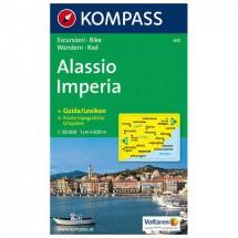 Kompass - Alassio /Imperia - Wandelkaarten