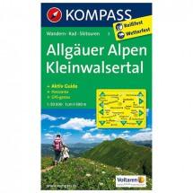 Kompass - Allgäuer Alpen - Vaelluskartat