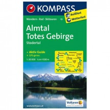 Kompass - Almtal - Cartes de randonnée