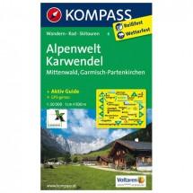 Kompass - Alpenwelt Karwendel - Vaelluskartat
