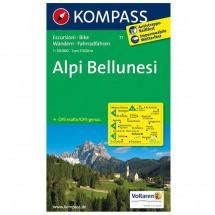 Kompass - Alpi Bellunesi - Cartes de randonnée