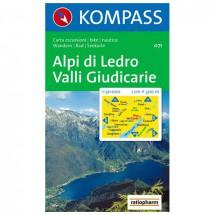 Kompass - Alpi di Ledro - Wandelkaarten