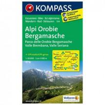 Kompass - Alpi Orobie Bergamasche - Wanderkarte