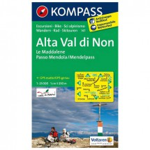 Kompass - Alta Val di Non - Cartes de randonnée