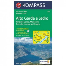 Kompass - Alto Garda e Ledro - Hiking Maps