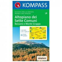 Kompass - Altopiano dei Sette Comuni - Wanderkarte