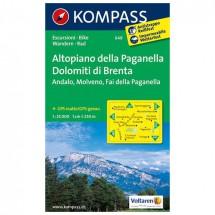 Kompass - Altopiano della Paganella - Hiking Maps
