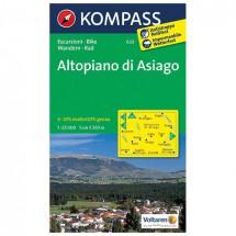 Kompass - Altopiano di Asiago - Wanderkarte