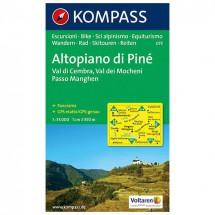 Kompass - Altopiano di Pine - Wanderkarte