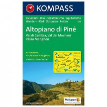 Kompass - Altopiano di Pine - Vaelluskartat