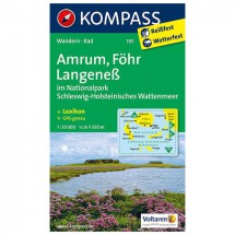 Kompass - Amrum - Wandelkaarten
