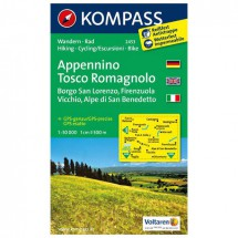 Kompass - Appennino Tosco Romagnolo - Hiking Maps