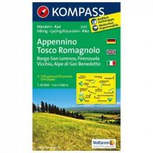 Kompass - Appennino Tosco Romagnolo - Wandelkaarten
