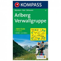 Kompass - Arlberg - Vaelluskartat