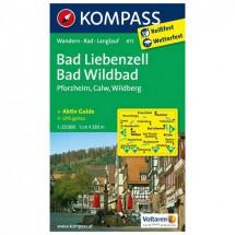 Kompass - Bad Liebenzell - Vaelluskartat
