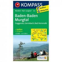 Kompass - Baden-Baden - Wanderkarte