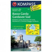 Kompass - Basso Garda - Wanderkarte
