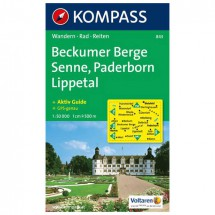 Kompass - Beckumer Berge - Wandelkaarten