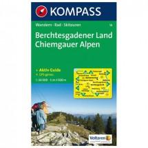 Kompass - Berchtesgadener Land - Chiemgauer Alpen