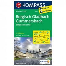 Kompass - Bergisch-Gladbach - Wanderkarte