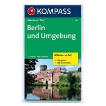 Kompass - Berlin und Umgebung - Wandelkaarten