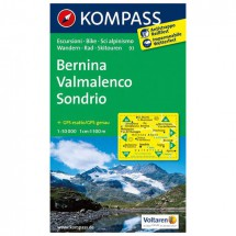 Kompass - Bernina - Hiking Maps