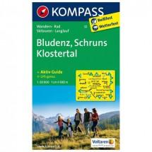 Kompass - Bludenz - Wandelkaarten