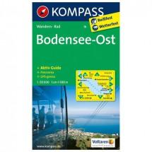 Kompass - Bodensee Ost - Wanderkarte