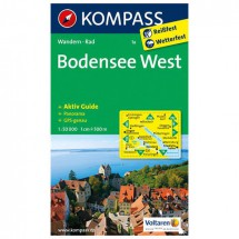 Kompass - Bodensee West - Wandelkaarten