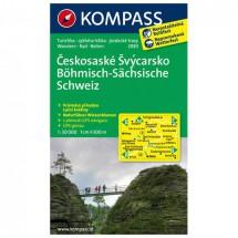 Kompass - Böhmisch-Sächsische Schweiz /Ceskosaske Svycarsko