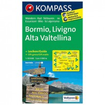 Kompass - Bormio - Hiking Maps