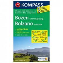 Kompass - Bozen und Umgebung /Bolzano e dintorni