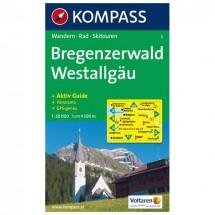 Kompass - Bregenzerwald - Wandelkaarten