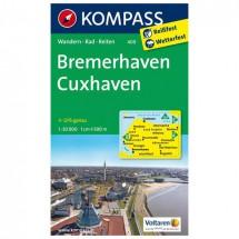 Kompass - Bremerhaven - Wanderkarte