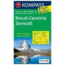 Kompass - Breuil - Wanderkarte