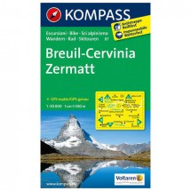 Kompass - Breuil - Cartes de randonnée