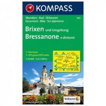 Kompass - Brixen und Umgebung - Wandelkaarten